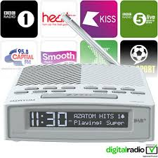 azatom dab dab fm radio alarm clock