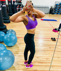 In Pics: Wendy Parker making her summer body in winter | News365.co.za