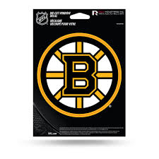 Rico Nhl Boston Bruins Die Cut Auto Decal Car Sticker Medium Vdcm Sportzzone