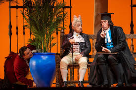 The Lyric Opera Opens on a Hilarious Note with Barber of Seville