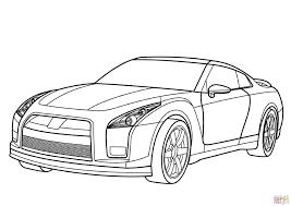 Nissan Gtr Kleurplaat Gratis Kleurplaten Printen Cars Coloring Pages