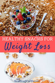favorite healthy snacks to lose weight