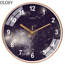 Nordic Star Wall Clock Modern Silent Bedroom Creative Art Kids Living Room Clocks Wall Home Decor Wall Watch Digital Wall Clock Buy At The Price Of 47 04 In Aliexpress Com Imall Com