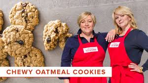 recipe for chewy oatmeal cookies