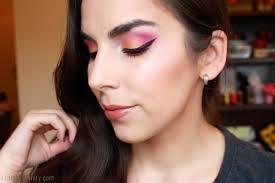 summer sunset inspired makeup tutorial