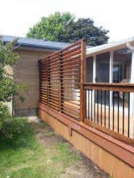 Deck Railings Flex Fence Louver System Balcony Railing Design Privacy Screen Outdoor Outdoor Privacy