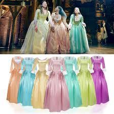 Anime Rock Opera Hamilton Musical Concert Peggy Elizabeth Angelica Cosplay  Costume Adult Women Muslim Prom Dresses Halloween Cos| | - AliExpress