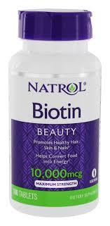 natrol biotin beauty maximum strength