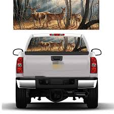 Deer Rear Window Decal Graphic For Truck Suv 135x36cm Sycchileconsultores Cl
