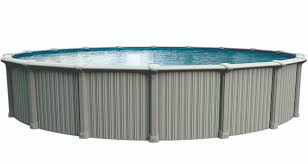 54 oasis semi inground pool semi