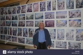 Lahore, Pakistan. 14 Jan, 2019. Le Pakistan et l'artiste de renommée  internationale, Dr peintre Ajaz