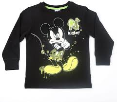 mickey mouse t shirt for boys size