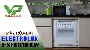 Hướng dẫn sử dụng máy rửa bát Electrolux ESF6010BW-08 Bộ - YouTube