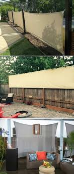 Privacy Fence Ideas I Like This Fencing Concept Personal Privacy Yet Neighborly Trellis As Well As Sty Privacy Screen Outdoor Backyard Privacy Summer Patio