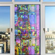 Ebern Designs Non Adhesive Decorative Privac Window Decal Wayfair