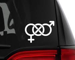 Bisexual Car Decal Etsy