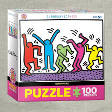 Keith Haring: Dancing 100 PC Kids ...