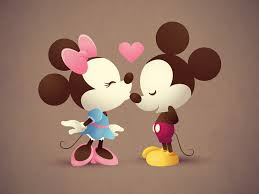 76 mickey and minnie wallpaper on