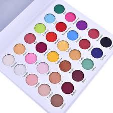 30 colors matte eye shadow palette