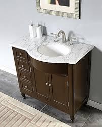 38 inch modern single bathroom vanity