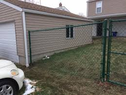 Residential Fencing 5 Foot Chain Link Fence Installation In Monaca Pa 5 Foot Chain Link Fence In Monaca