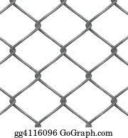 Drawing Chain Link Fence Clipart Drawing Gg53591712 Gograph