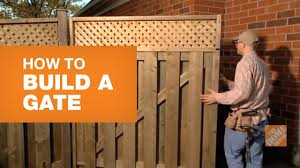 How To Build A Gate With Bonus Lattice Feature Youtube