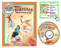 Risas y Sonrisas Spanish Program for Kids - Student Book with CD-ROM and  Skits DVD: Leticia Smith: 9780976014720: Amazon.com: Books