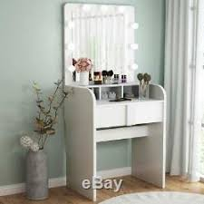 makeup vanity dressing table with 9