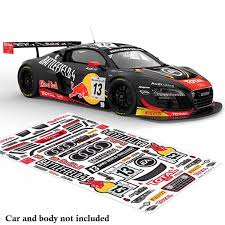Bodyworx Stickers Audi R8 Battlefield 4 1 10 Hobby Habit