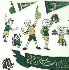 College Ncaa Usf Spirit Family Car Window Cling Decal Stickers Univ Of South Florida Bulls Sports Mem Cards Fan Shop Cub Co Jp
