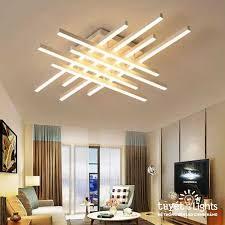 Đèn ốp trần trang trí 8 thanh vuông MT - 7305/10 – Tuyết Lights - Hệ Thống Đèn  LED Chính Hãng