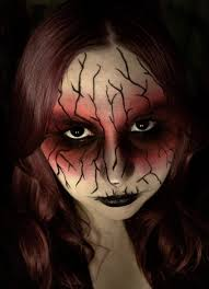 easy zombie makeup for halloween 2020