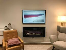samsung frame tv with no gap wall mount