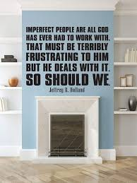 com christian quotes wall decals imperfect people