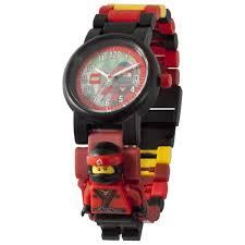 LEGO - THE NINJAGO MOVIE Kai Minifigure Link Watch - Walmart.com ...