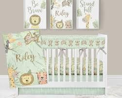 jungle crib bedding baby boy nursery