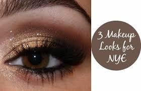 3 makeup looks for nye chelsea crockett