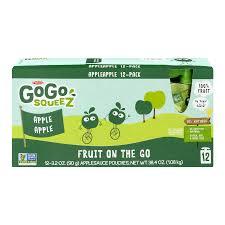 gogo squeez applesauce apple apple 3