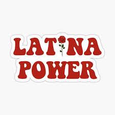 Latina Stickers Redbubble