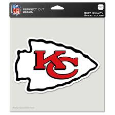 Kansas City Chiefs Wincraft 8 X 8 Color Car Decal