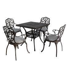 garden furniture sets cast aluminium