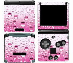 Pink Drop 007 Vinyl Skin Sticker Protector For Nintendo Gameboy Advance Gba Sp Skins Stickers Protector Sticker Protector Nintendo Aliexpress