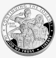 boy scouts of america silver dollar