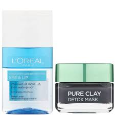 l oréal paris detox face mask and