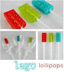jolly rancher lego lollipops