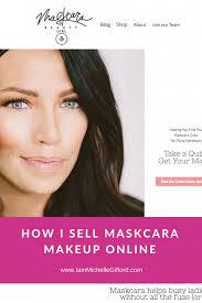 how to sell maskcara makeup the
