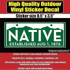 Coras De Nayarit License Plate Window Sticker Vinyl Decal 6 X 3 Transportation Collectibles Transportation