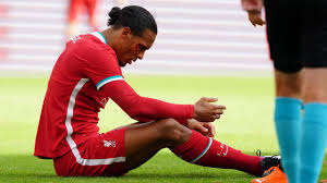 Virgil van Dijk injury ...