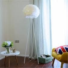 Nordic Feather Floor Lamp Living Room Bedroom Kids Room Studio Floor Standing Lump Indoor House Simpl Floor Lamp Floor Lamps Aliexpress